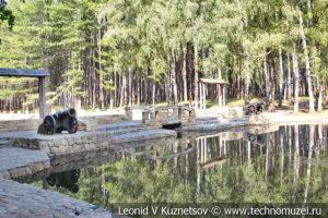Пушки Иван и Шат в Детском парке в Новомосковске