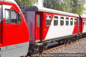 Пассажирский вагон 43-0011 Орленок на Тульской детской железной дороге