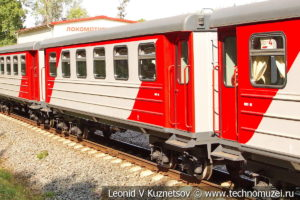 Пассажирский вагон 43-0011 Чебурашка на Тульской детской железной дороге
