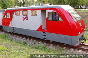 Тепловоз ТУ10 на Тульской детской железной дороге