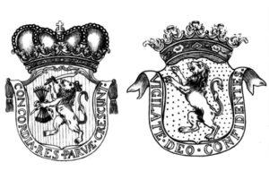 Гербы на голландских пушках армии Наполеона