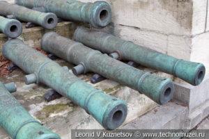 6-фунтовые прусские пушки армии Наполеона в Московском Кремле