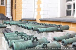 Пушки Наполеона в Московском Кремле