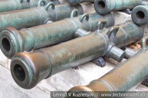 6-фунтовая вестфальская пушка армии Наполеона в Московском Кремле