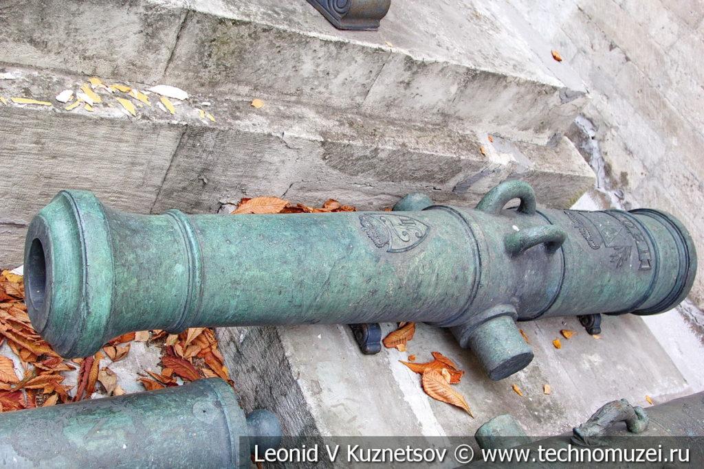 6-фунтовая вюртембергская пушка армии Наполеона в Московском Кремле