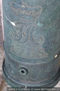 6-фунтовая саксонская пушка армии Наполеона в Московском Кремле