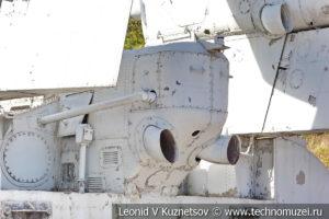 Катер на воздушной подушке проекта 1205 СКАТ в Музее Военно-морского флота в Москве
