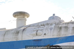 Транспортно-десантный экраноплан проекта 904 Орленок в Музее Военно-морского флота в Москве
