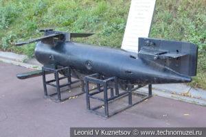 Выпускное буксируемое устройство (ВБАУ) Параван в Музее Военно-морского флота в Москве