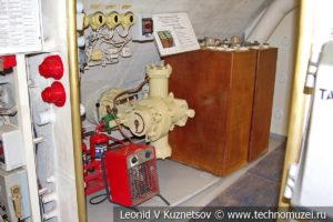 Второй аккумуляторный и жилой отсек подводной лодки Б-396 в Музее Военно-морского флота в Москве