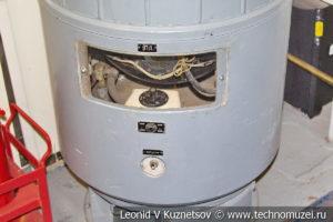 Душевой нагреватель подводной лодки Б-396 в Музее Военно-морского флота в Москве