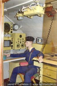 Рубка штурмана подводной лодки Б-396 в Музее Военно-морского флота в Москве