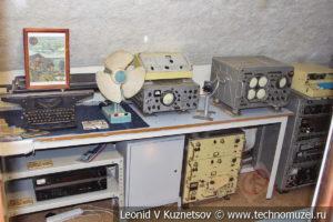 Рубка радиста подводной лодки Б-396 в Музее Военно-морского флота в Москве