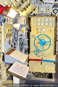 Электромоторный отсек подводной лодки Б-396 в Музее Военно-морского флота в Москве