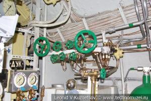 Седьмой кормовой отсек подводной лодки Б-396 в Музее Военно-морского флота в Москве