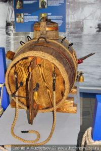 Макет потаенного судна Ефима Никонова в Музее Военно-морского флота в Москве