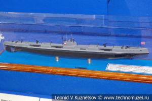 Торпедная подводная лодка Морж (модель) в Музее Военно-морского флота в Москве