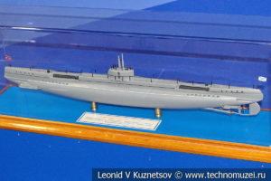 Подводная лодка Акула (модель) в Музее Военно-морского флота в Москве