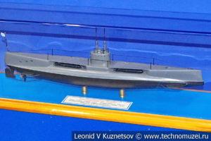 Подводная лодка Касатка (модель) в Музее Военно-морского флота в Москве