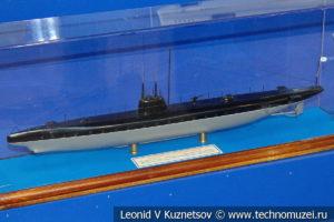Подводная лодка Святой Георгий (модель) в Музее Военно-морского флота в Москве