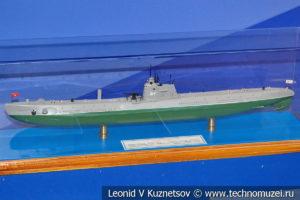 Подводная лодка тип Д I серии Декабрист (модель) в Музее Военно-морского флота в Москве