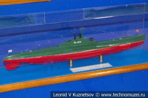 Средняя подводная лодка тип Щ X серии Щука (модель) в Музее Военно-морского флота в Москве