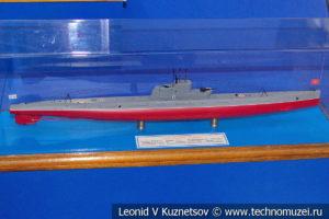 Подводная лодка-минный заградитель тип Л II серии Ленинец (модель) в Музее Военно-морского флота в Москве