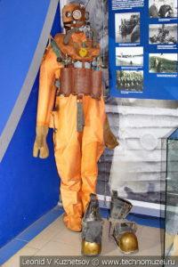 Водолазный костюм в Музее Военно-морского флота в Москве