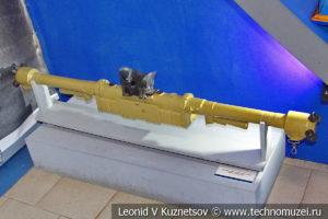 Германский морской стереоскопический дальномер в Музее Военно-морского флота в Москве
