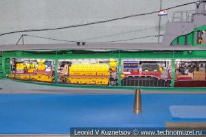 Подводная лодка М-107 типа М XII серии (модель) в Музее Военно-морского флота в Москве