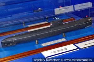 Дизель-электрическая подводная лодка проекта 641Б Сом (модель) в Музее Военно-морского флота в Москве