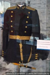 Стенд о кортике в Музее Военно-морского флота в Москве