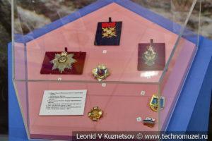 Боевые награды и знаки отличия в Музее Военно-морского флота в Москве