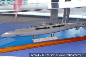 Подводная лодка Почтовый (модель) в Музее Военно-морского флота в Москве