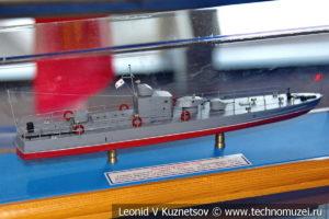 Гвардейский бронекатер БКА-75 проекта 1125 (модель) в Музее Военно-морского флота в Москве