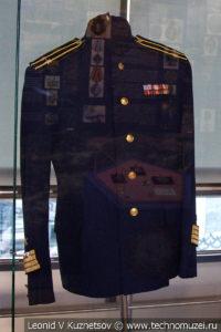 Китель офицера ВМФ СССР в Музее Военно-морского флота в Москве