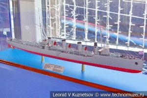 Эскадренный миноносец Новик (модель) в Музее Военно-морского флота в Москве