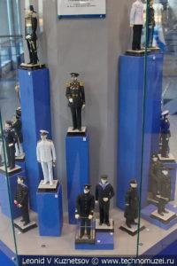 История формы военно-морского флота Российской империи в Музее Военно-морского флота в Москве
