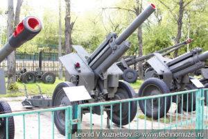 122-мм гаубица М-30 образца 1938 года в Центральном музее Вооруженных Сил