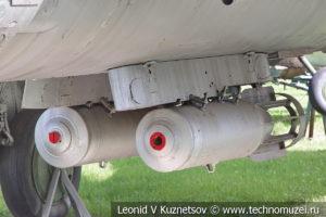 Реактивный истребитель-бомбардировщик Су-7Б в Центральном музее Вооруженных Сил