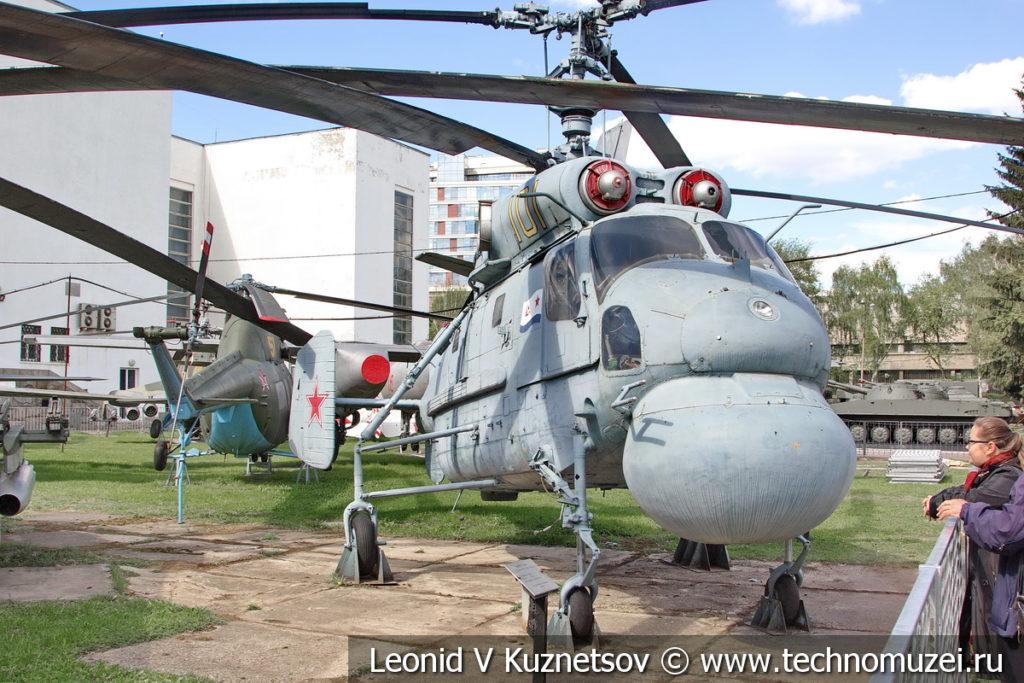 Противолодочный вертолет Ка-25 в Центральном музее Вооруженных Сил