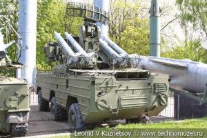 Зенитный ракетный комплекс 9К33 Оса в Центральном музее Вооруженных Сил