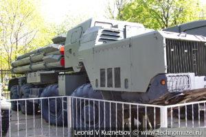 Пусковая установка 9А52-2 реактивной системы залпового огня 9К58 Смерч в Центральном музее Вооруженных Сил