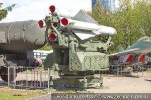 Зенитный комплекс С-200 в Центральном музее Вооруженных Сил