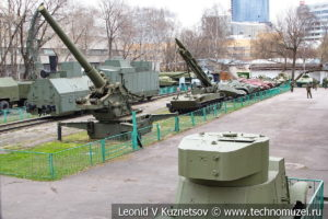 Центральный музей Вооруженных Сил техника на улице