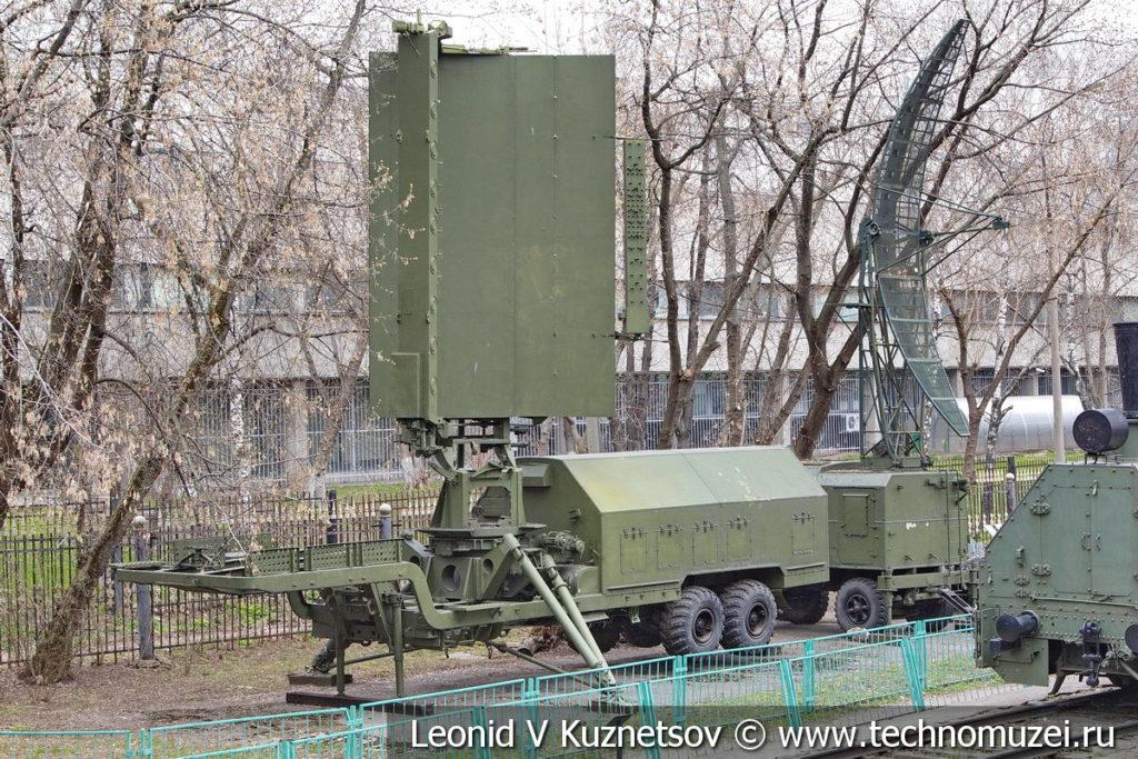 Радиолокационная станция 19Ж6 (СТ-68У) в Центральном музее Вооруженных Сил