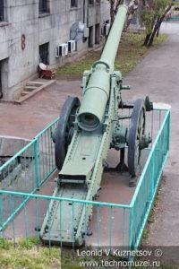 Французская 155-мм полевая пушка образца 1877 года в Центральном музее Вооруженных Сил