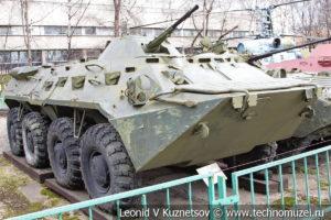 Бронетранспортер БТР-80 в Центральном музее Вооруженных Сил
