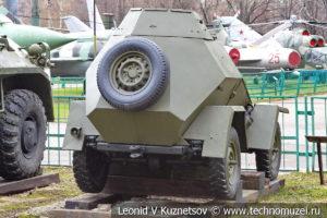 Бронеавтомобиль БА-64 в Центральном музее Вооруженных Сил