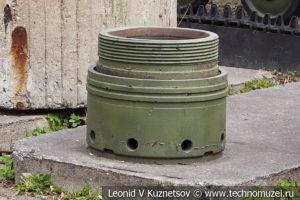 Донная часть снаряда 610-мм немецкой мортиры Тор в Центральном музее Вооруженных Сил